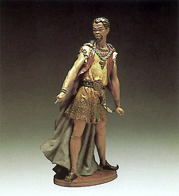 Othelo Lladro Figurine