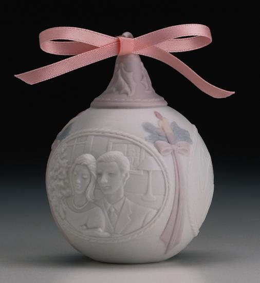 Our First Christmas 1997 Lladro Figurine