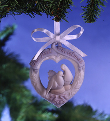 Our First Christmas 2000 Lladro Figurine