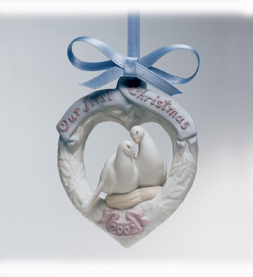 Our First Christmas 2002 Lladro Figurine