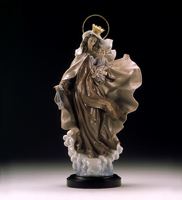 Our Lady Of Carmen (b) Lladro Figurine