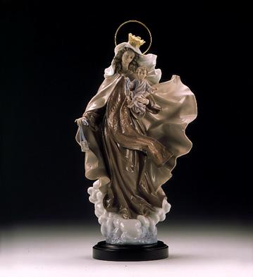 Our Lady Of Carmen (b) Lladro Figurine