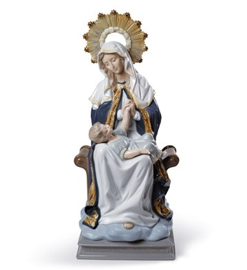 Our Lady Of Divine Providence Lladro Figurine