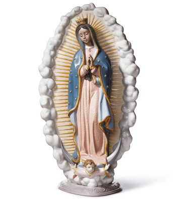 Our Lady Of Guadalupe Lladro Figurine