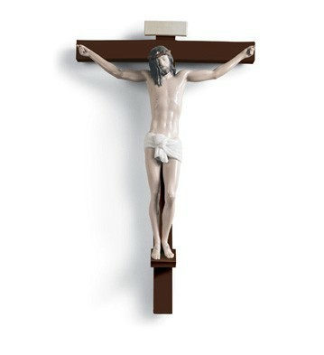 Our Saviour (wall Art) Lladro Figurine