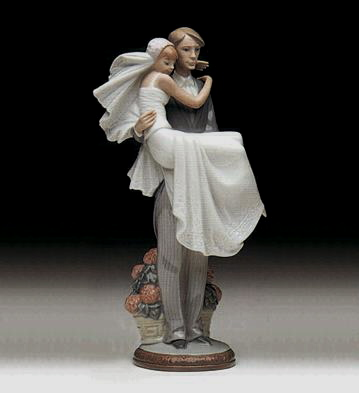 Over The Threshold Lladro Figurine