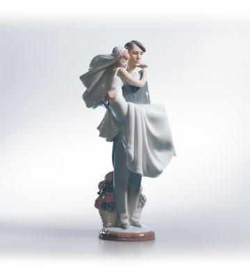 Over The Threshold Lladro Figurine