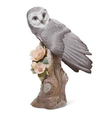 Owl Lladro Figurine