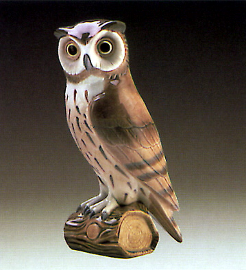 Owl 1 Lladro Figurine