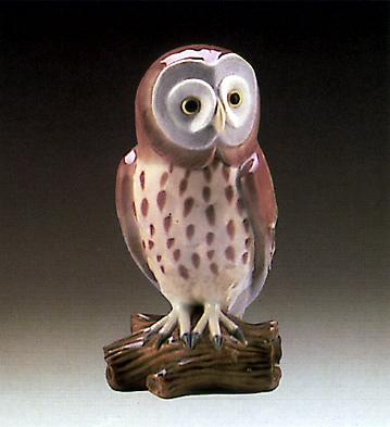 Owl 2 Lladro Figurine