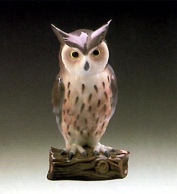 Owl 3 Lladro Figurine