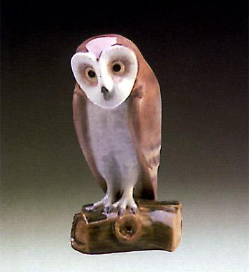 Owl 4 Lladro Figurine