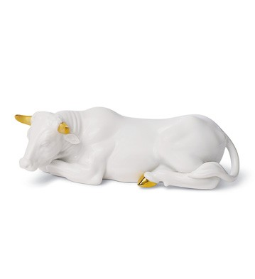 Ox (re-deco) Lladro Figurine