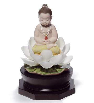 Padmasana Buddha Lladro Figurine