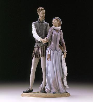 Palace Dance Lladro Figurine