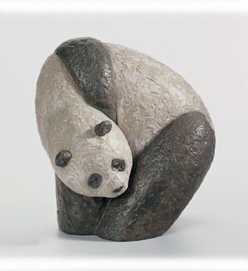 Panda Iii Lladro Figurine