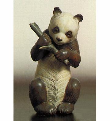 Panda Lladro Figurine