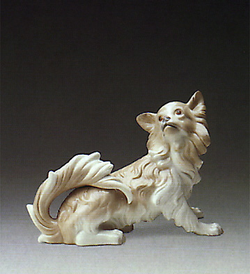 Papillon Dog Lladro Figurine