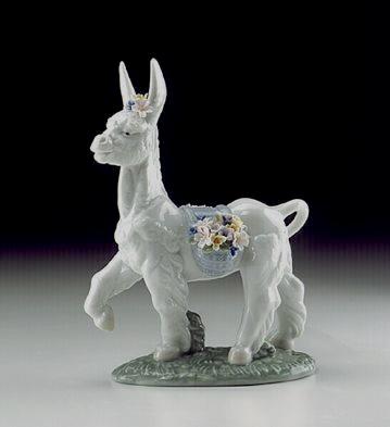 Parading Donkey Lladro Figurine