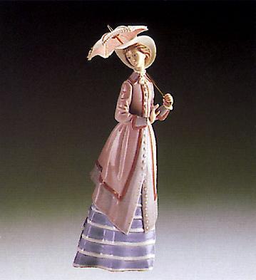 Parisian Lady Lladro Figurine