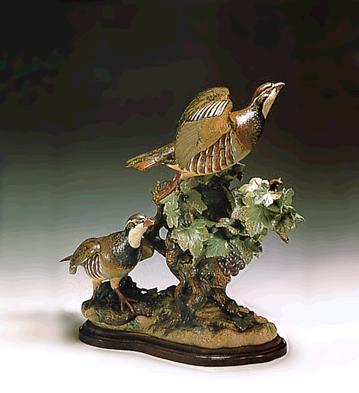 Partridges Flying (l.e.) Lladro Figurine