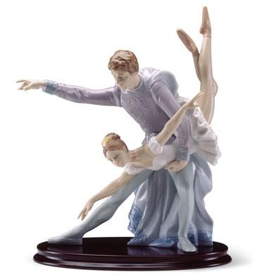 Pas A Deux Lladro Figurine
