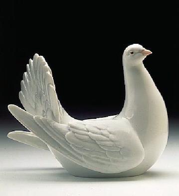 Peaceful Dove Lladro Figurine