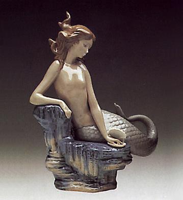 Pearl Seamaid Lladro Figurine