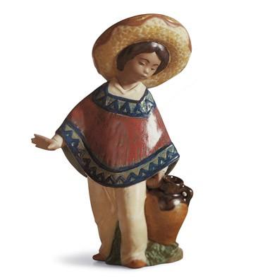 Pedro With Jug Lladro Figurine