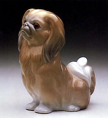 Pekinese Sitting Lladro Figurine