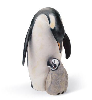 Penguin Love Lladro Figurine