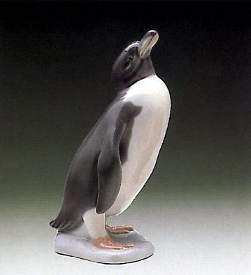 Penguin Lladro Figurine