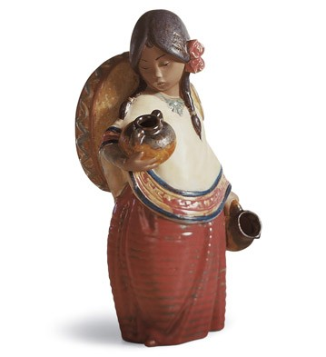 Pepita With Hat Lladro Figurine
