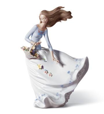 Petals On The Wind Lladro Figurine