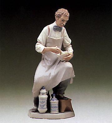 Pharmacist Lladro Figurine