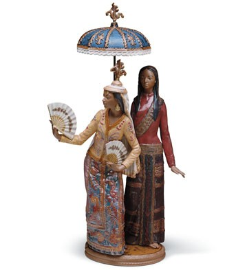 Philippine Girls (l.e.) Lladro Figurine