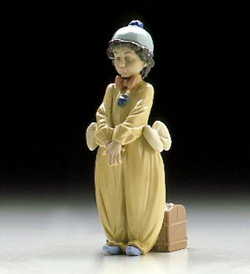Pierrot In Love Lladro Figurine