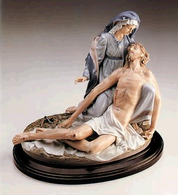 'pious'(l.e.) (b) Lladro Figurine
