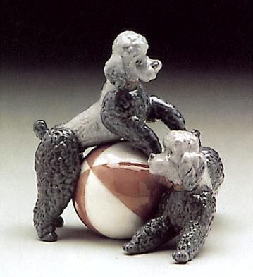 Playful Dogs Lladro Figurine
