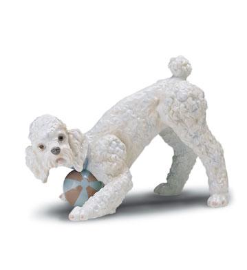 Playful Poodle Lladro Figurine