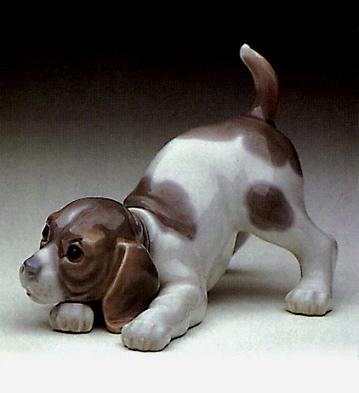 Playful Puppy Lladro Figurine