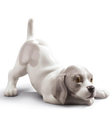 Playful Puppy Lladro Figurine