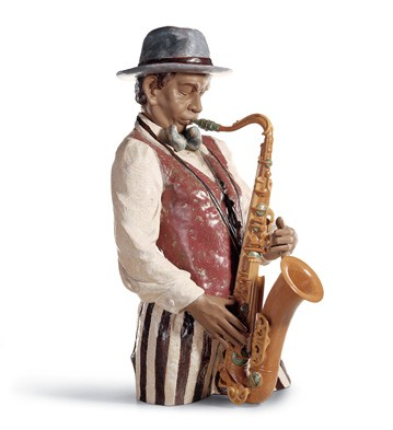 Playing The Blues Lladro Figurine