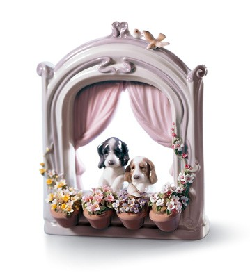 Please Come Home! Lladro Figurine