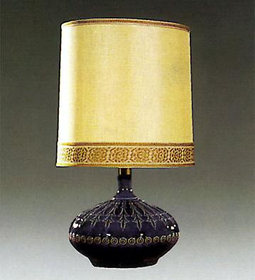 Pletonia Lamp Blue Lladro Figurine