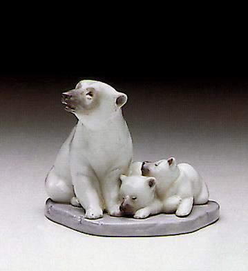 Polar Bear Miniature Lladro Figurine