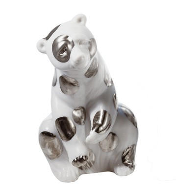 Polar Bear Resting (re-deco) Lladro Figurine