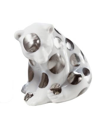 Polar Bear Seated (re-deco) Lladro Figurine