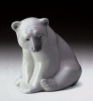Polar Bear Seated Lladro Figurine