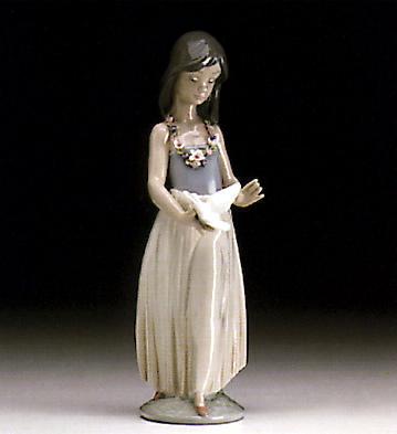 Polynesian Love Lladro Figurine